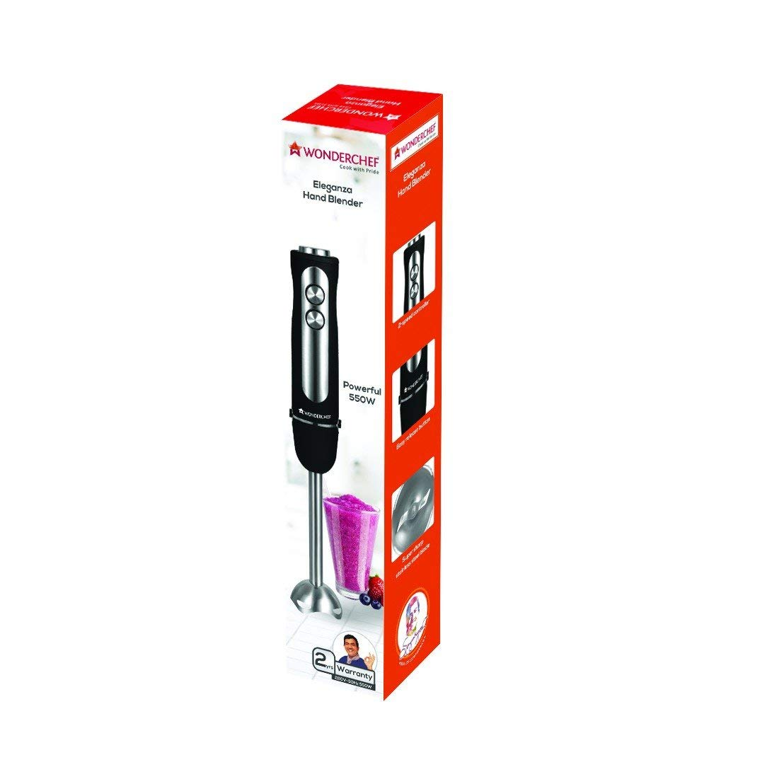 Wonderchef Eleganza 63152254 550 watt Hand Blender